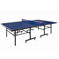 Любительский теннисный стол, толщина 12 мм, колеса 50 мм с сеткой DW9012, 274 х 152,5 х 76 см