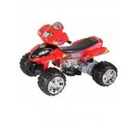 Квадроцикл RiverToys Quatro RD 203 красный с резиновыми колесами