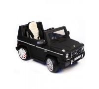 Электромобиль RiverToys Mersedes-Bens G65 черный матовый