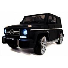 RiVer-AuTo Детский электромобиль Mercedes-Benz G-65 (ЛИЦЕНЗИОННАЯ МОДЕЛЬ), р.Черный