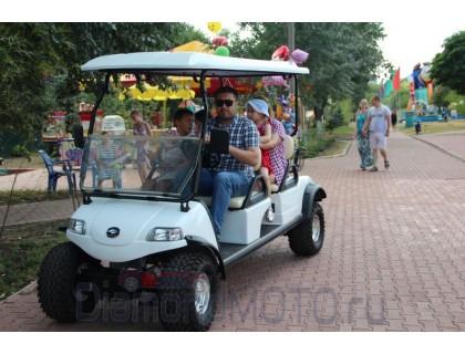 Гольфкар Smart Elcar Express Lifted 4