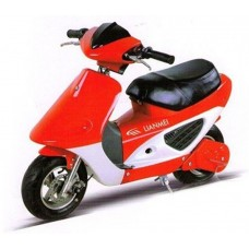 Joy Automatic Скутер LMOOX-R3-Bike(E) красный