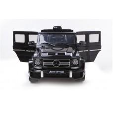 Mercedes-Benz G63 (ЛИЦЕНЗИОННАЯ МОДЕЛЬ) с дистанционным управлением черный матовый