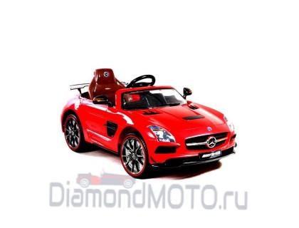 Электромобиль Mercedes-Benz SLS А333АА красный Rivertoys