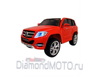 Электромобиль Rivertoys Mercedes-Benz GLK300 красный