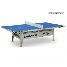 Антивандальный теннисный стол Donic Outdoor Premium 10 (синий)