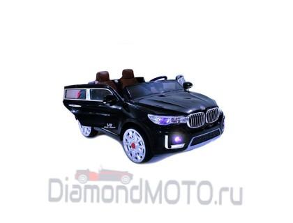 Электромобиль BMW M333MM черный Rivertoys