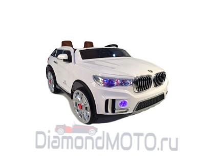 Электромобиль BMW M333MM белый Rivertoys