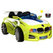 TjaGo Электромобиль BMW Solar-System 218SX с пультом - голубой