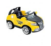 Электромобиль Kids cars Bentley желтый