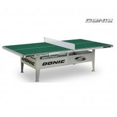 Антивандальный теннисный стол Donic Outdoor Premium 10 (зеленый)