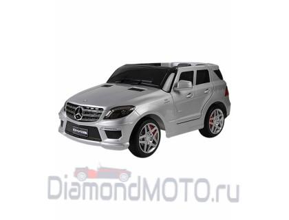Электромобиль Keep Top Mercedes ML63 AMG серебристый