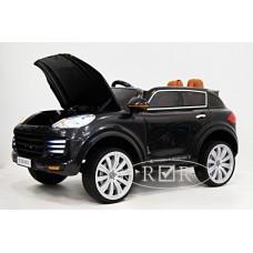 RiVer-AuTo Детский электромобиль Porsche E008KX с дистанционным управлением, р.Черный