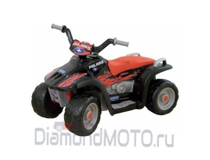 Электромобиль - Квадроцикл Peg Perego Polaris Sportsman Nero