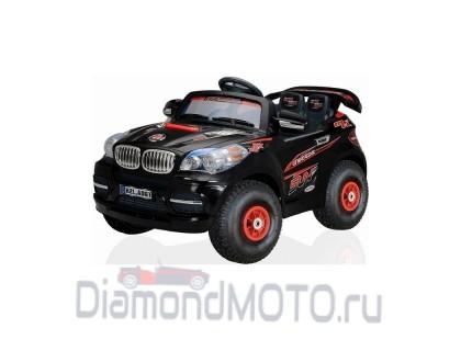 Электромобиль Kids cars джип BMW черный