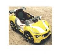 Электромобиль RiverToys Maserati А222АА желтый