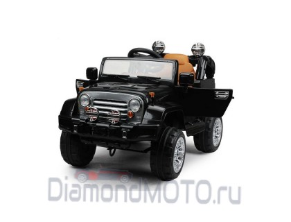 Электромобиль Kids cars джип JJ245 черный