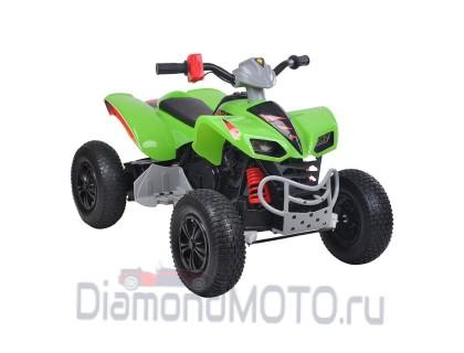 Электроквадроцикл 12V/10Ah*2 зеленый