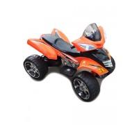 Электроквадроцикл Е005КХ оранжевый Rivertoys
