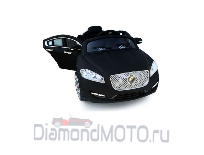 Электромобиль Rivertoys Jaguar A999MP Vip черный