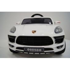 Porsche Macan O005OO VIP с дистанционным управлением. Белый
