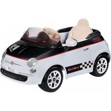 Peg Perego Детский электромобиль FIAT 500 12V OR-0065 БЕЛЫЙ