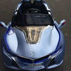 Детский электромобиль BMW Кабриолет, с пластиковыми колесами