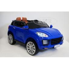 RiVer-AuTo Детский электромобиль Porsche E008KX с дистанционным управлением, р.Синий
