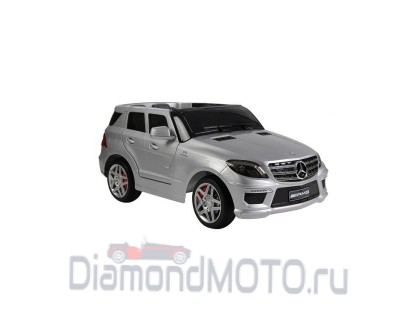 Электромобиль R-Toys Mercedes-Benz ML-63 AMG silver