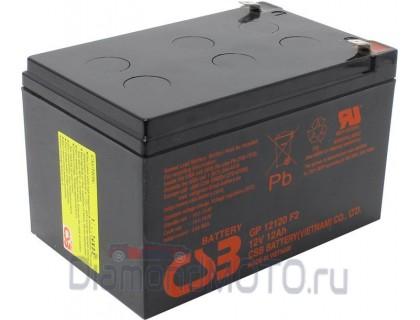 Свинцово кислотный аккумулятор 12V12Ah