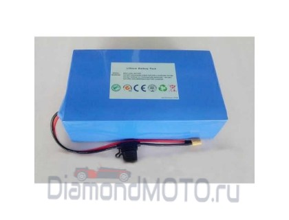 Литиевый аккумулятор L-ion 48v 18Ah для электросамоката
