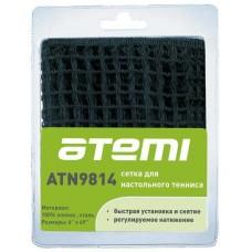 ATN9814D Сетка для настольного тенниса Atemi без креплений, хлопок