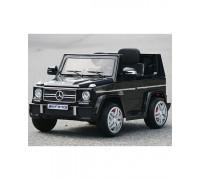 Электромобиль RiverToys Mersedes-Bens G65 черный глянец