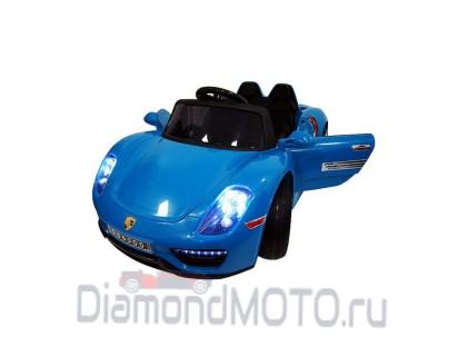 Электромобиль RiverToys Porshe О003ОО синий