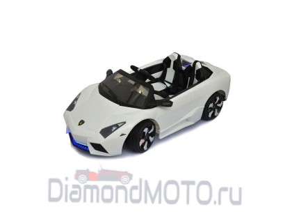 Электромобиль RiverToys Lambo LS-518 белый