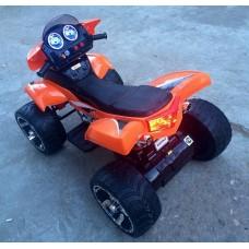 Rivertoys Детский электроквадроцикл Е005КХ красный кожа