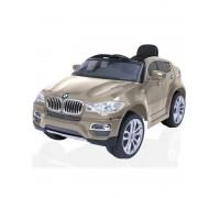 Электромобиль R-Toys BMW X6 champagne metallic