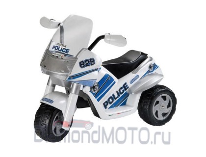 Электромобиль Raider Police Peg Perego (Пег Перего)