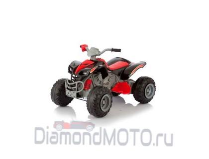 Электромобиль-квадроцикл Jetem Scat 2-х моторный чёрный