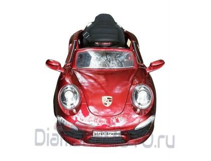 Электромобиль Rivertoys Porsche E911KX вишневый