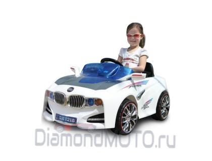 Электромобиль TjaGo BMW Solar System белый