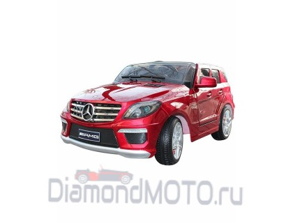 Электромобиль Keep Top Mercedes ML63 AMG красный