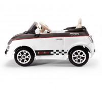 Электромобиль Peg-Perego Fiat 500 белый