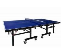 Профессиональный теннисный стол, толщина 22 мм, колеса 100 мм с сеткой DW9022, 274 х 152,5 х 76 см
