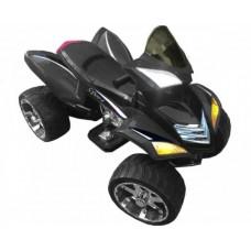 Rivertoys Детский электроквадроцикл Е005КХ черный кожа