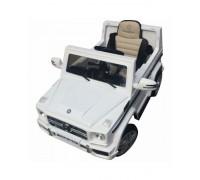 Электромобиль RiverToys Mersedes-Bens G65 белый