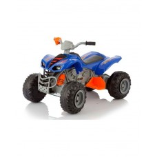 Электромобиль-квадроцикл Jetem Scat 2-х моторный синий