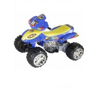 Квадроцикл RiverToys Quatro RD 203 синий с резиновыми колесами