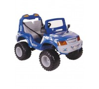 Электромобиль Chine Ti Джип Off-roader синий
