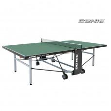 Всепогодный Теннисный стол Donic Outdoor Roller 1000 (зелёный)